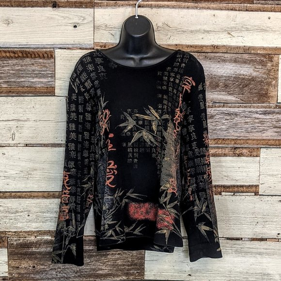 Chico's Tops - Chico's Long Sleeve Pull Over Top 1